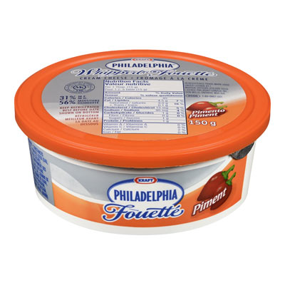 PHILADELPHIA Whipped Pimento Cream Cheese Product 150G
