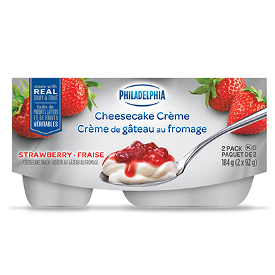 Philadelphia Cheesecake Crème Strawberry 2x92g
