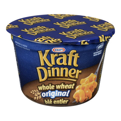 KRAFT DINNER Cup Whole Wheat Original
