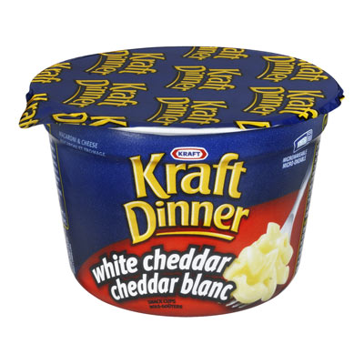 KRAFT DINNER CUP White Cheddar