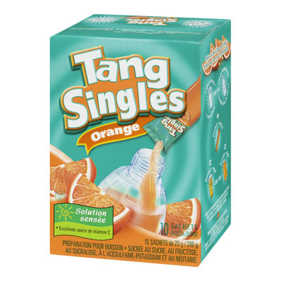 TANG 200 GR SINGLES SOFT DRINK-POWDERED  ORANGE     1 BOX/CARTON EACH