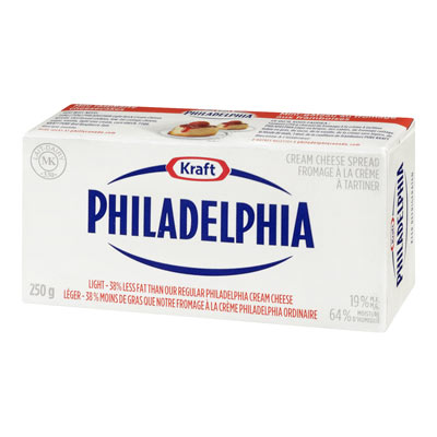 PHILADELPHIA Original Light Cream Cheese Spread