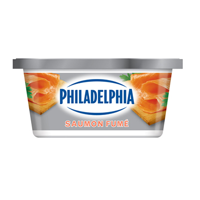 PHILADELPHIA 250 GR CREAM CHEESE-SOFT SMOKED SALMON EACH