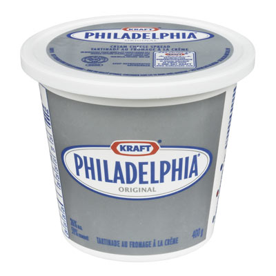 PHILADELPHIA 400 GR CREAM CHEESE-SOFT       1  EACH