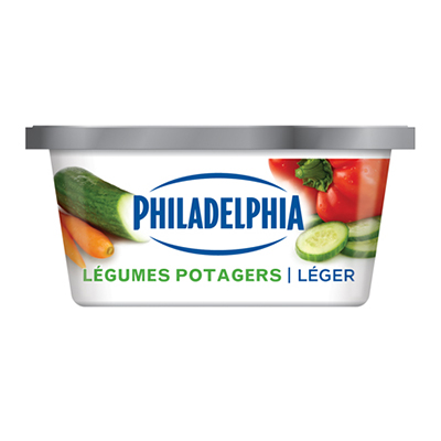 PHILADELPHIA 250 GR CREAM CHEESE-SOFT LIGHT GARDEN VEGETABLE EACH