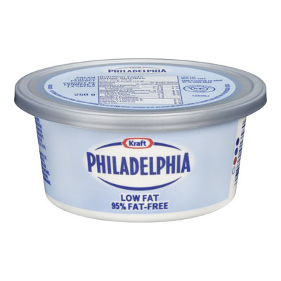 PHILADELPHIA 250 GR CREAM CHEESE-SOFT ULTRA LOW FAT EACH