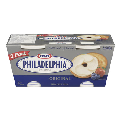 PHILADELPHIA 800 GR CREAM CHEESE-SOFT FULL FAT      1 TUB EACH
