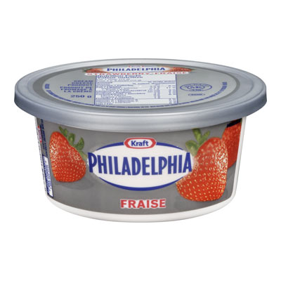 PHILADELPHIA Cream Cheese Strawberries & Cream