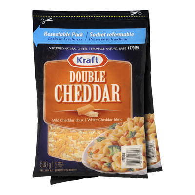 KRAFT Double Cheddar Shredded Cheese