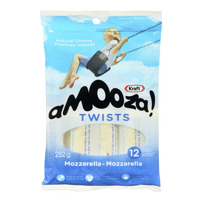 KRAFT AMOOZA Twists Mozzarella-Mozzarella