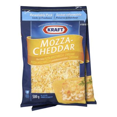 KRAFT Mozza-Cheddar Shredded Cheese