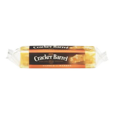 CRACKER BARREL 200 GR NATURAL CHEESE-BARS MARBLE EACH