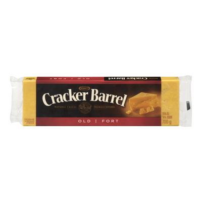 CRACKER BARREL Fromage Cheddar fort