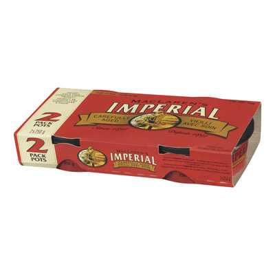 MACLAREN IMPERIAL 500 GR NATURAL CHEESE-WHEEL  SHARP COLD PACKED CHEDDAR     1 BOX/CARTON EACH