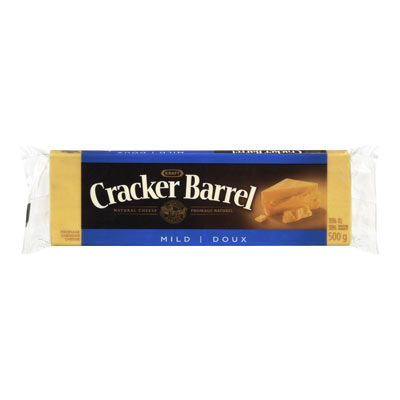CRACKER BARREL Fromage Cheddar mi-fort 500�g
