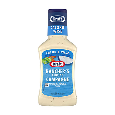 Kraft Low Fat Ranch Dressing Nutrition Facts – Nutrition ...