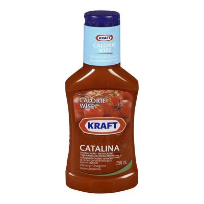 KRAFT 250 ML DRESSING-LIQUID CALORIE WISE CATALINA     1 BOTTLE EACH