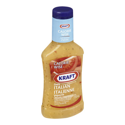 KRAFT CALORIE WISE Zesty Italian Dressing