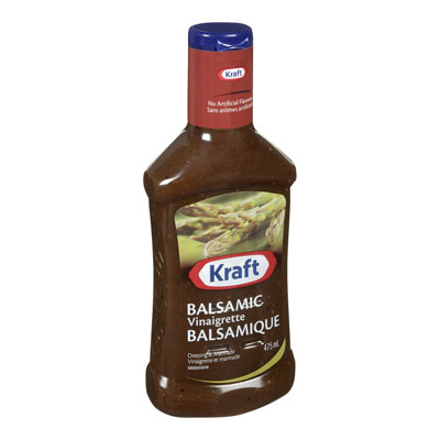 KRAFT Balsamic Vinegar Dressing