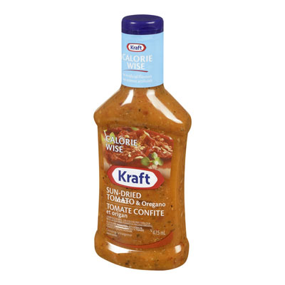 KRAFT CALORIE WISE Sundried Tomato Dressing