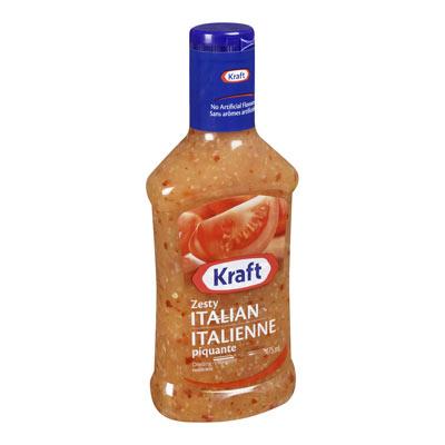 KRAFT Zesty Italian Dressing