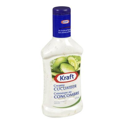 KRAFT Vinaigrette Crémeuse au concombre