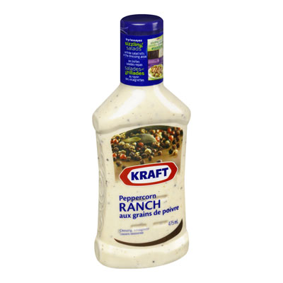 KRAFT Peppercorn Ranch Dressing