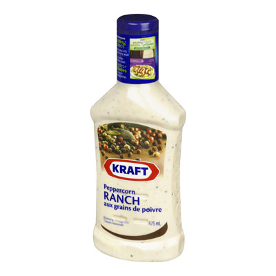 KRAFT Vinaigrette Ranch aux grains de poivre