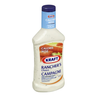 KRAFT CALORIE WISE RANCHER'S CHOICE Dressing