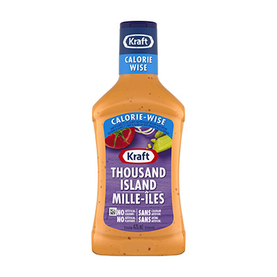 KRAFT CALORIE WISE 1000 Island Dressing