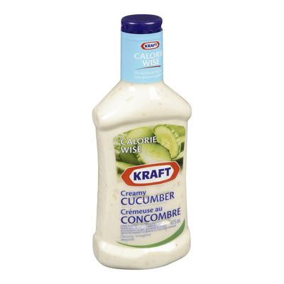 KRAFT CALORIE WISE Creamy Cucumber Dressing