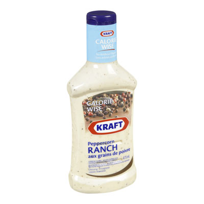 KRAFT CALORIE WISE Peppercorn Ranch Dressing