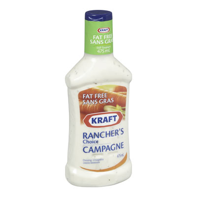 KRAFT Vinaigrette Ranch sans gras