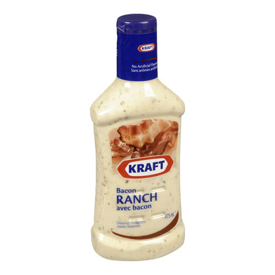 KRAFT Vinaigrette Ranch au bacon