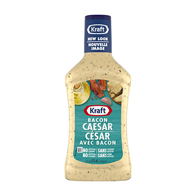 KRAFT Vinaigrette César au bacon