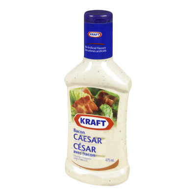 KRAFT Caesar With Bacon Dressing