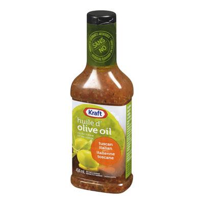 KRAFT Vinaigrette à l'huile d'olive extra vierge Italienne toscane