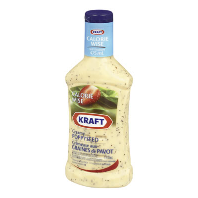 KRAFT CALORIE WISE Poppyseed Dressing