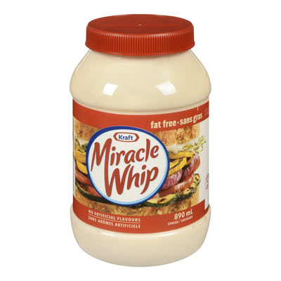 MIRACLE WHIP Sans gras