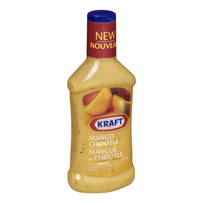 KRAFT 475 ML SIGNATURE DRESSING-LIQUID  MANGO CHIPOTLE     1 BOTTLE EACH
