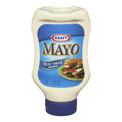 KRAFT Vraie mayonnaise BOUTEILLE PRESSABLE