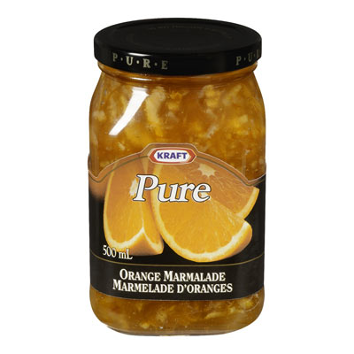 KRAFT 500 ML MARMALADE  ORANGE MARMALADE     1 JAR EACH