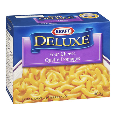 KRAFT Deluxe Four Cheese