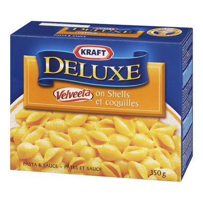 KRAFT Deluxe Velveeta on Shells,