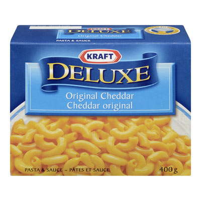 KRAFT Deluxe Cheddar original