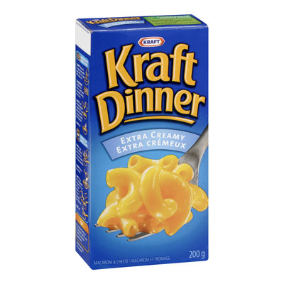 KRAFT DINNER Extra Creamy Macaroni & Cheese,