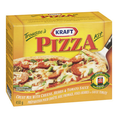 KRAFT Cheese Pizza Pie Mix,