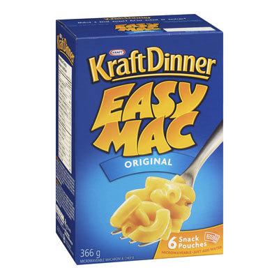 KRAFT DINNER Easy Mac Original