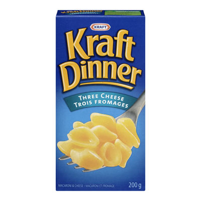KRAFT DINNER Three Cheese Macaroni & Cheese,