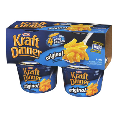KRAFT DINNER CUPS ORIGINAL